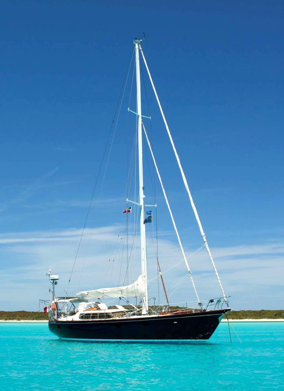 Hutting Yachts aluminium sailing boat
