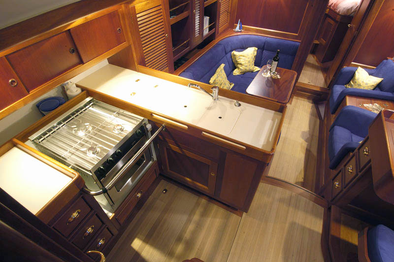 Hutting 40 interior