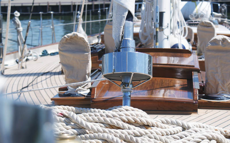 Refit sailboat