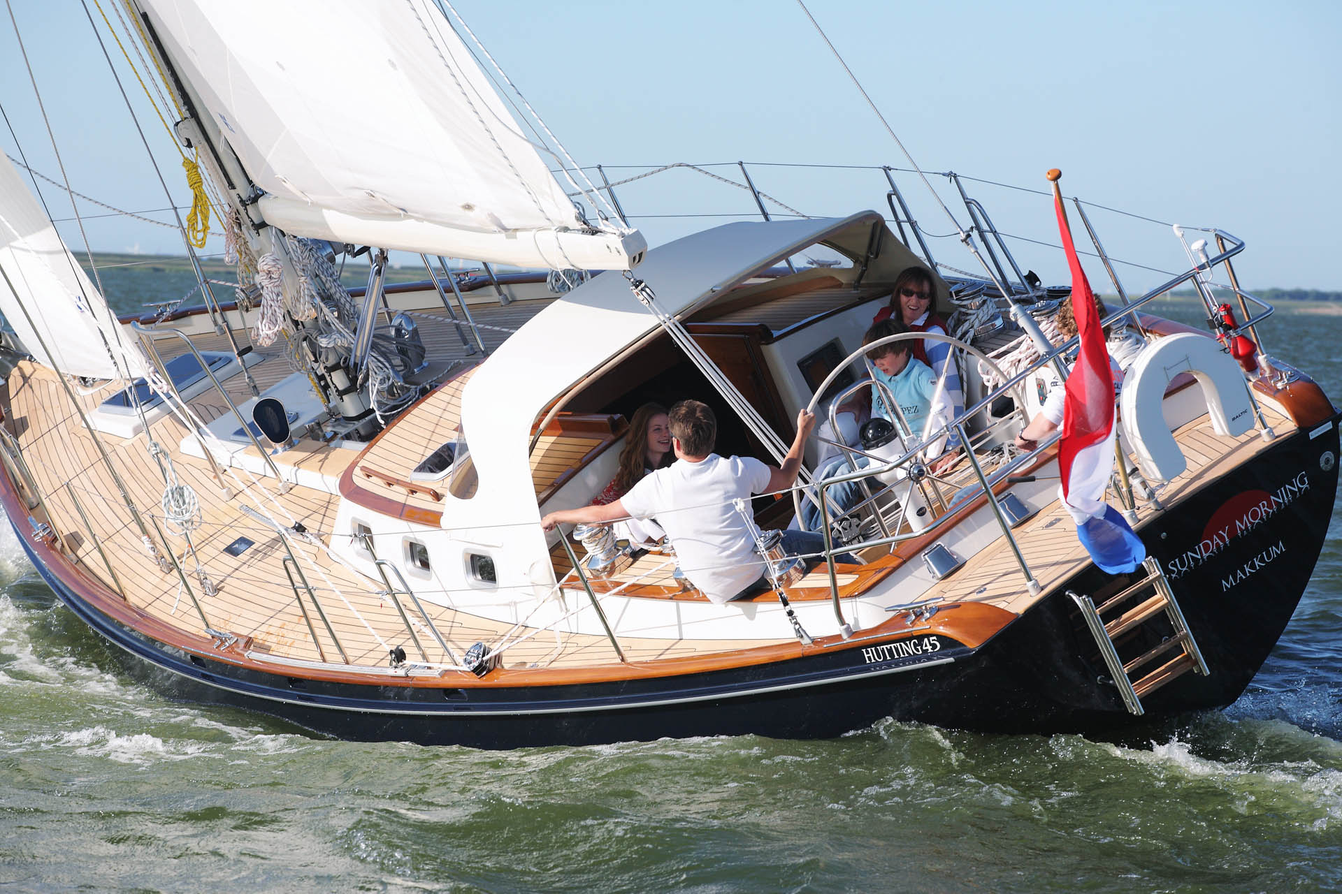 Hutting 45 Hutting yachts