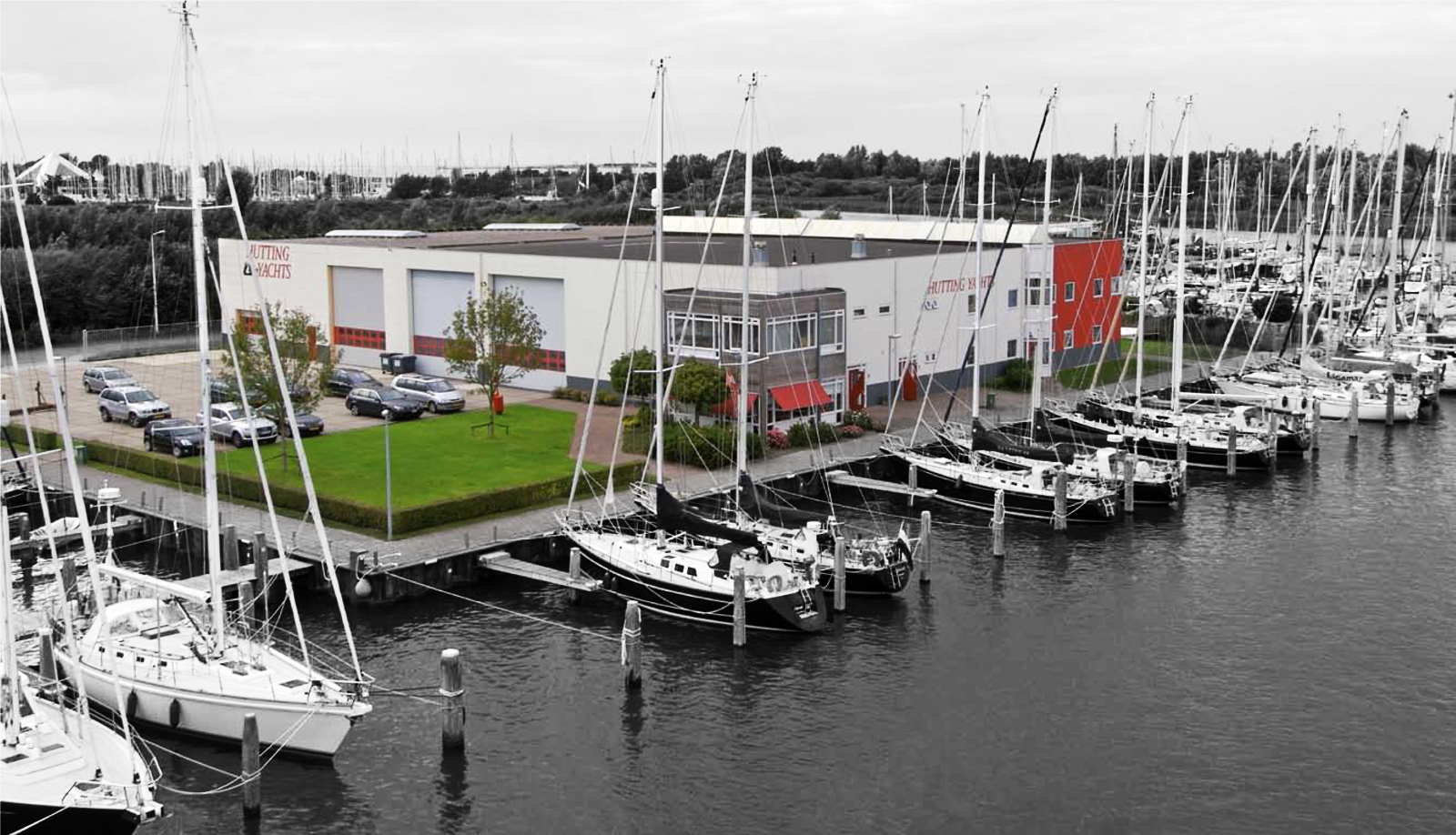 Hutting yachts werf