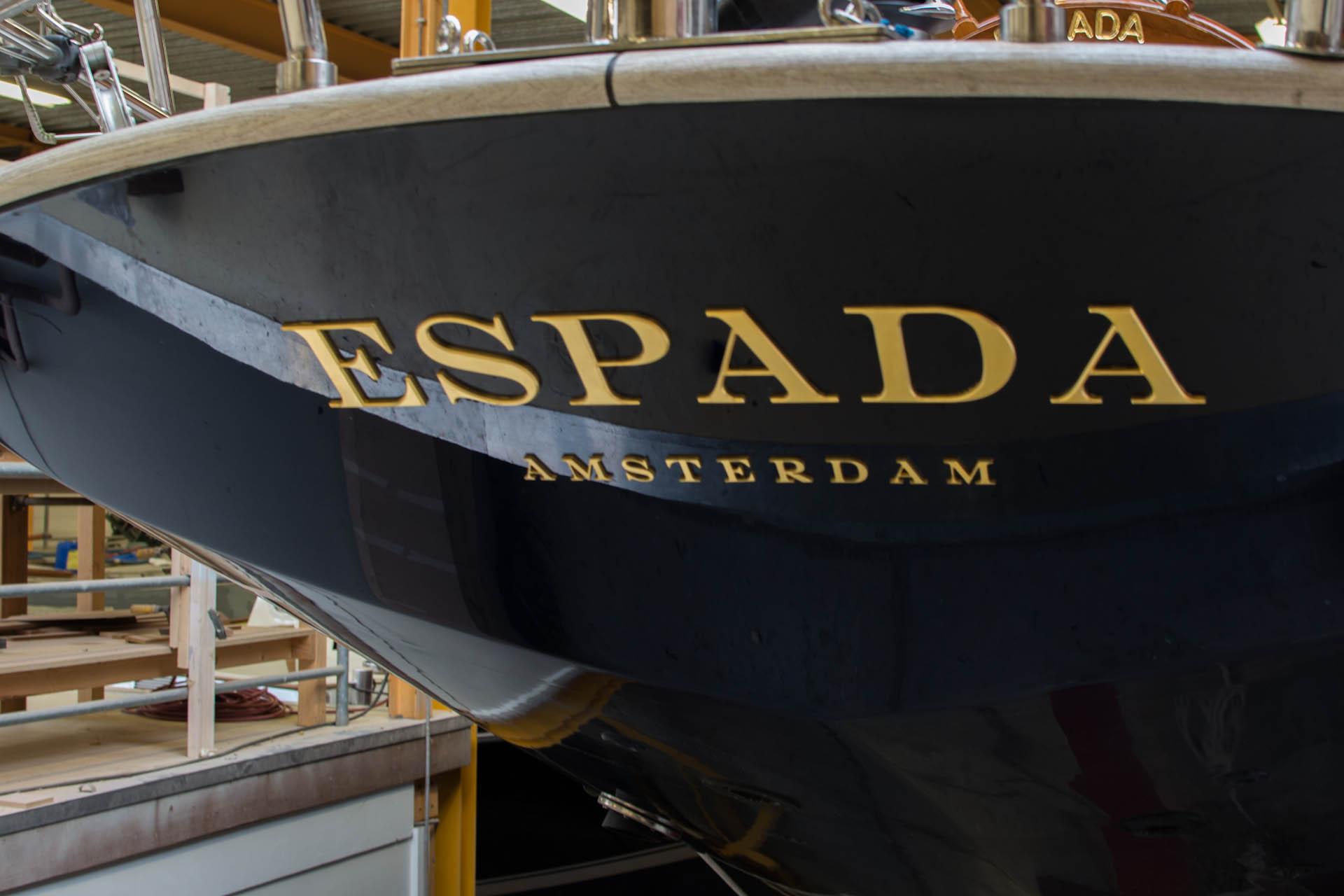 refit truly classic Espada spiegel