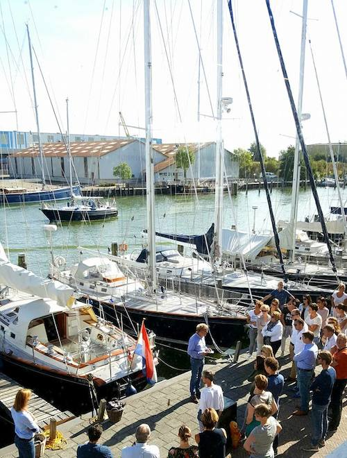 Hutting Yachts event