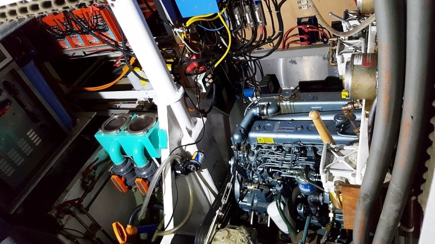Koopmans 54 Rock Steady motor