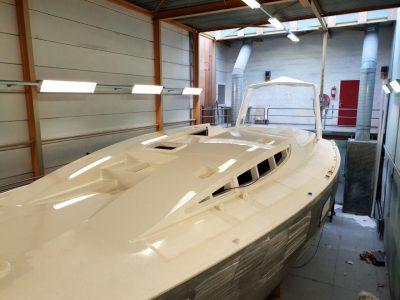 aluminium 47 explorer yacht tipsy tuna built by Hutting Yachts