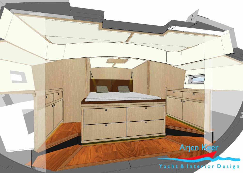 custom build 47 ft explorer yacht