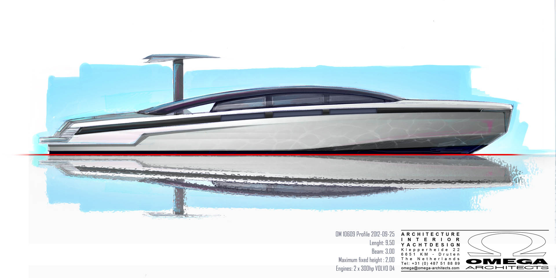 Limo Tender t/t Yalla design drawing