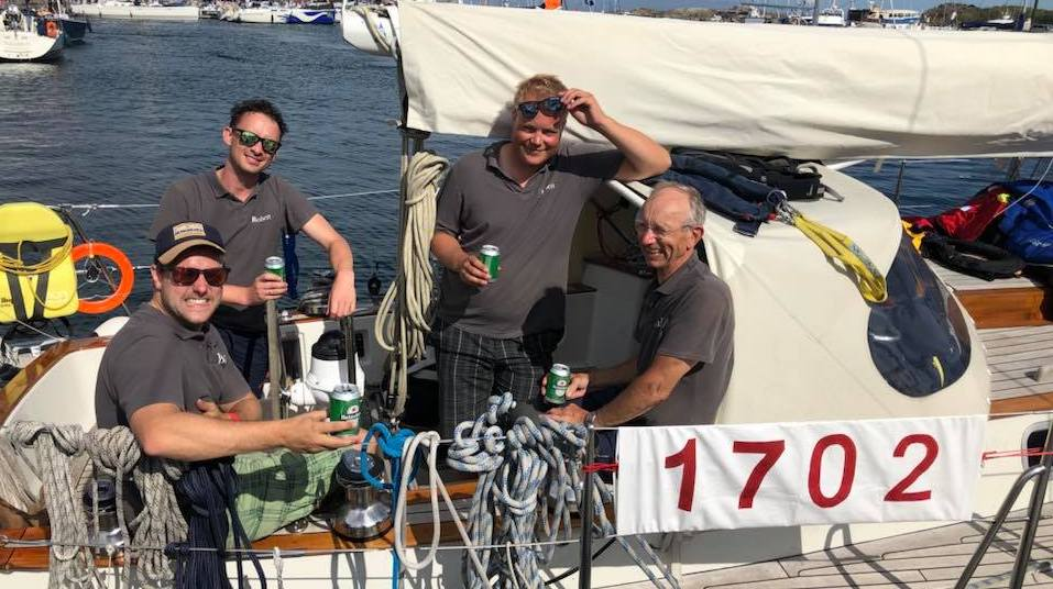 Hutting Yachts Hutting 40 Brandaen tijdens CAMR 2018