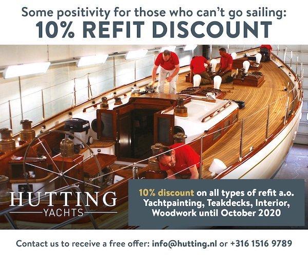 Refit discount until October 2020