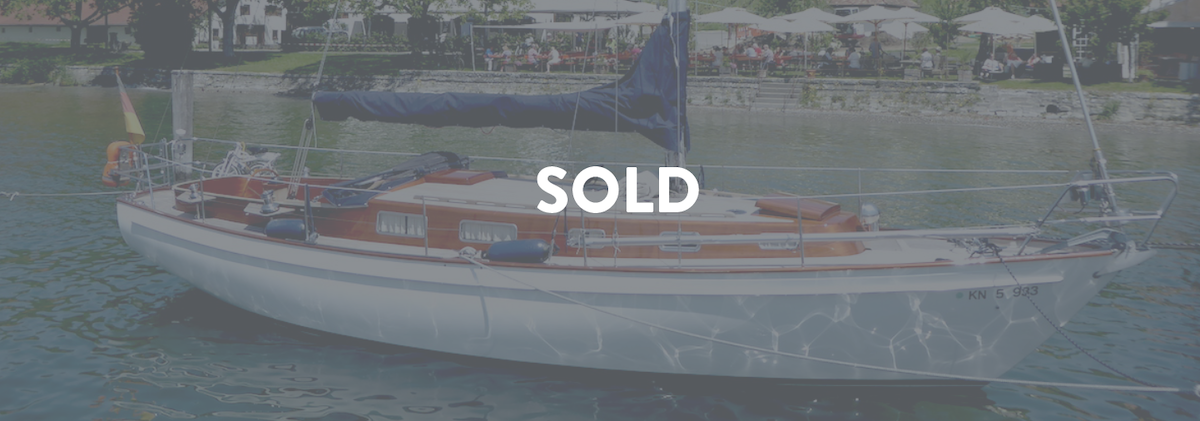 succesful brokerage sold sailing boat