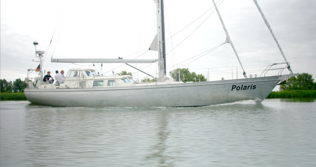 sailing Polaris august 2020