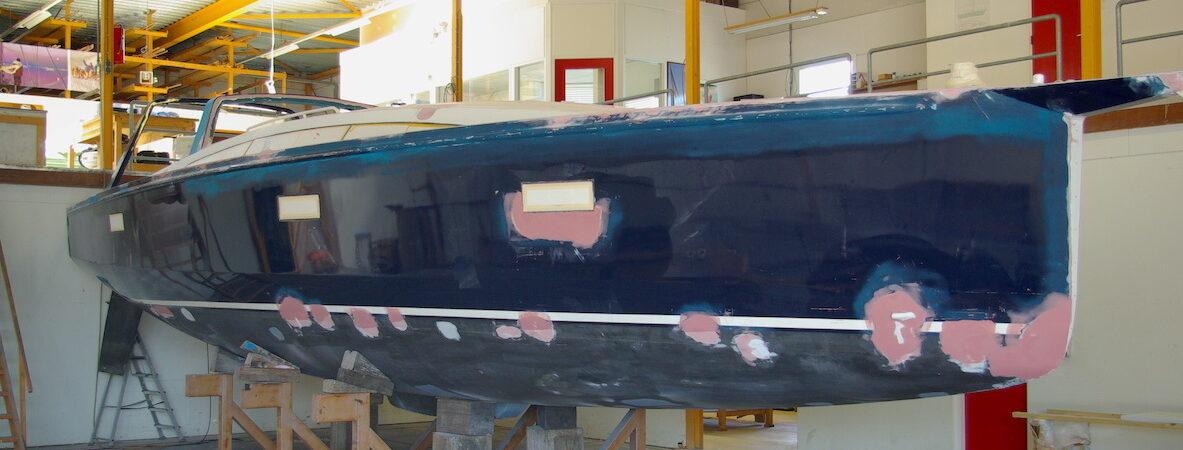 refit aluminium sailing yacht