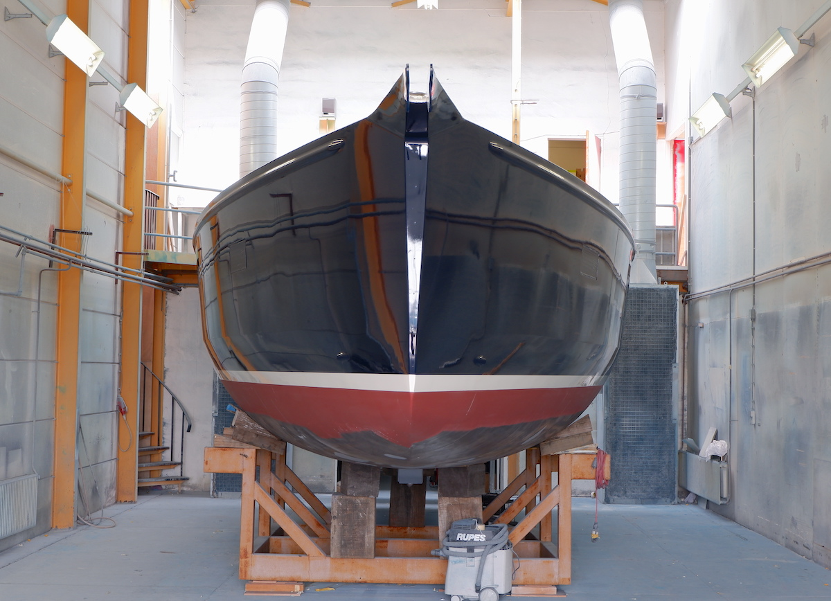 Front Frodewin after new painting