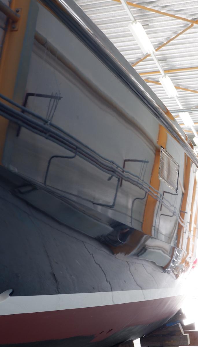 new topcoat sailing yacht