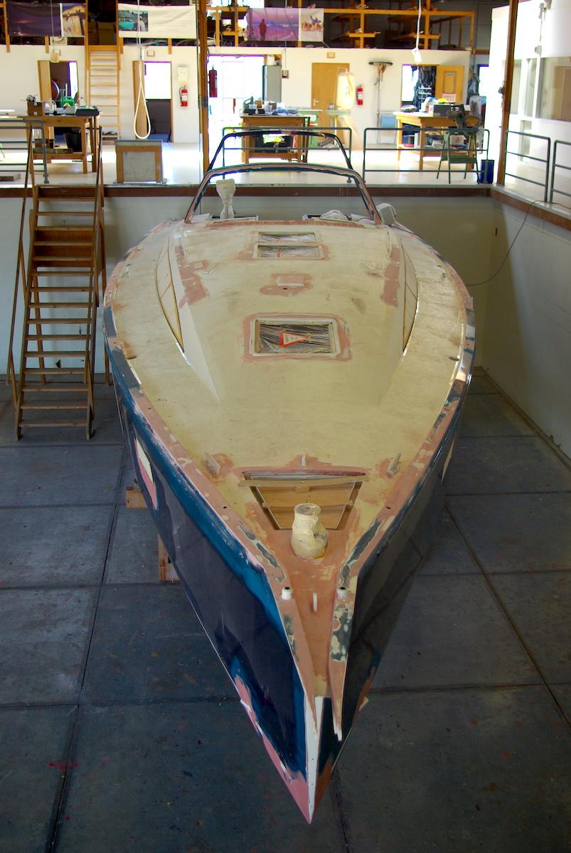 repair aluminium hull
