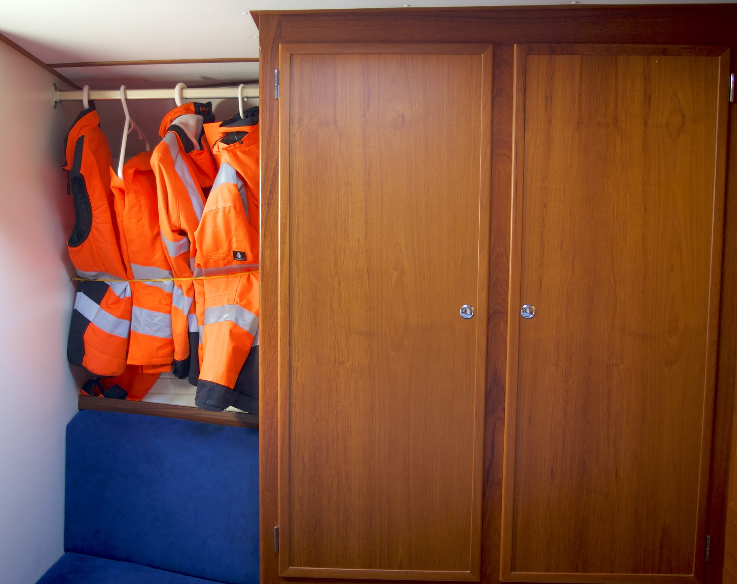 closets at the captains cabin